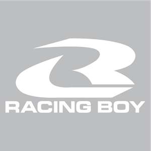Racing Boy Logo Vector