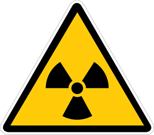 RADIATION DANGER SIGN Logo Vector