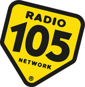 Radio 105 Logo Vector