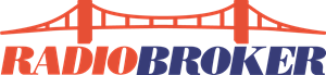 Radio Broker Logo Vector