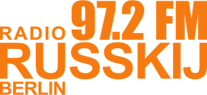 Radio Russkij Berlin wordmark Logo Vector