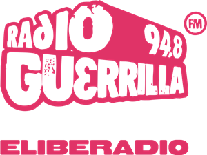 radio Guerrilla Logo Vector