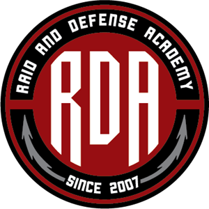 Raid and Defense Academy Logo Vector
