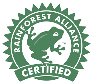 Rainforest Alliance Certified Logo Vector