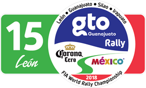 Rally Mexico WRC 2018 Logo Vector