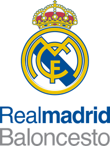 Real Madrid Basketball Logo Vector