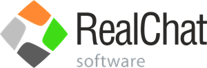 Realchat Software Logo Vector