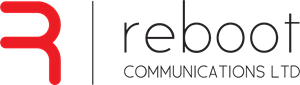 Reboot Communications Logo Vector