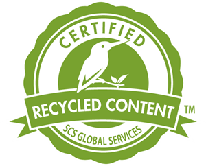 Recycled Content Certified by SCS Global Services Logo Vector