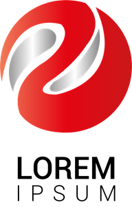 Red Circle Logo Vector