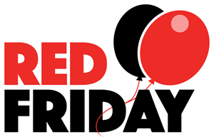 Red Friday Logo Vector
