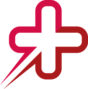 Red Medical Health Logo Vector