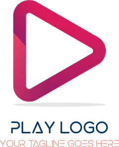 Red play Logo Vector