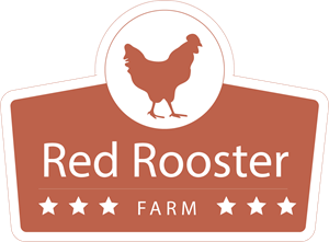 Red Rooster Chicken Logo Vector
