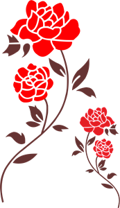 Red Rose Logo Vector