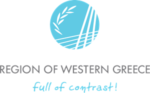 Region of Western Greece Logo Vector