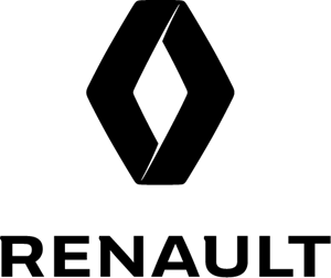 логотип векторе renault
