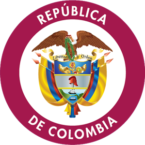 Republica de Colombia Logo Vector