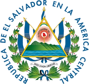 Republica de El Salvador en la America Central Logo Vector