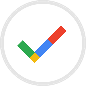 Reserve with Google Logo Vector