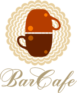 Restaurant Bar Cafe Logo Vector