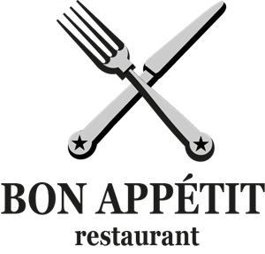 Restaurant with Fork & Knife Logo Vector