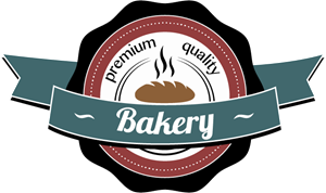 Retro bakery Logo Vector