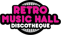 Retro Music Hall Prague Logo Vector