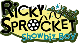 Ricky Sprocket Showbiz Boy Logo Vector