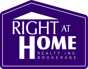 Right at Home Realty Logo Vector