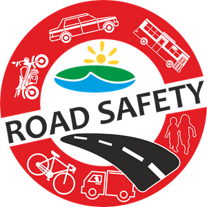 Road Safety Logo Vector