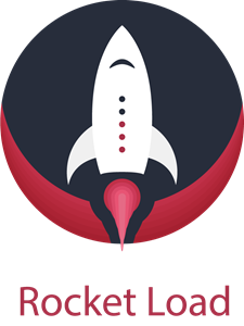Rocket Load Logo Vector