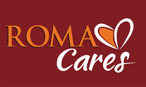 Roma Cares Logo Vector