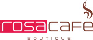 Rosa Café Boutique Logo Vector