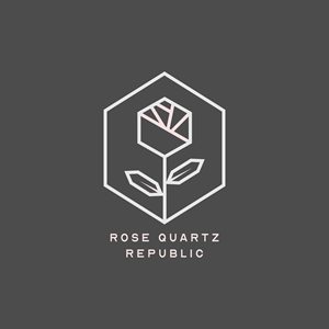 Rose Quartz Republic Logo Vector