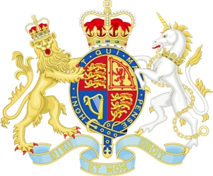 Royal Coat of Arms of the United Kingdom Logo Vector