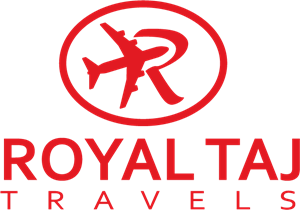 Royal Taj Travels Logo Vector