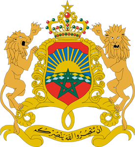 Royaume du maroc - Kingdom of morocco Logo Vector