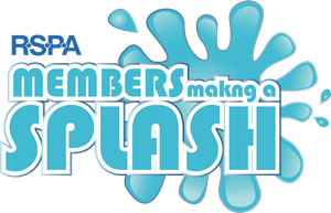 RSPA Members making a Splash Logo Vector