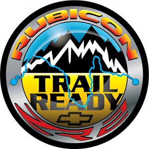 Rubicon Trail Ready ZR2 - Decal Logo Vector