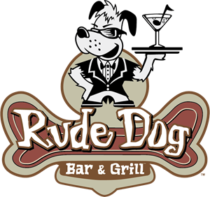 Rude Dog Bar & Grill Logo Vector