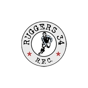 Ruggers 34 R.F.C. Rugby Istanbul Logo Vector