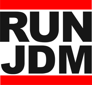 RUN JDM Logo Vector
