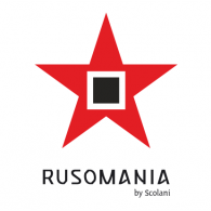 Rusomania Eyewear by Scolani Logo Vector
