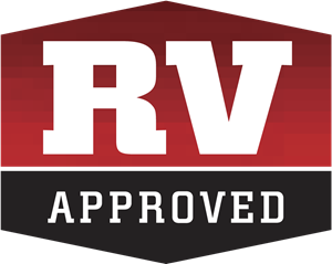 RV Approved Logo Vector