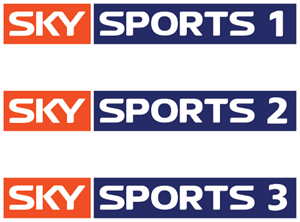 SKY sports 1,2 and 3 Logo Vector