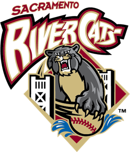 Sacramento River Cats Logo Vector