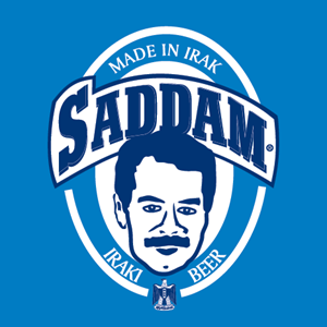 Saddam Beer Logo Vector