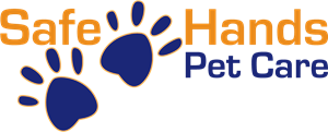 Safe Hands Pet Care Logo Vector