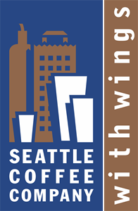 Seattle Coffee Company Logo Vector